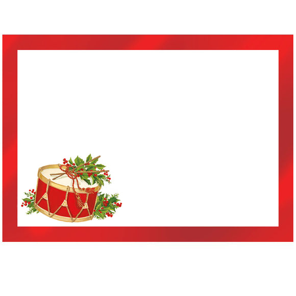 Caspari Christmas Concert Self-Adhesive Labels - 12pk