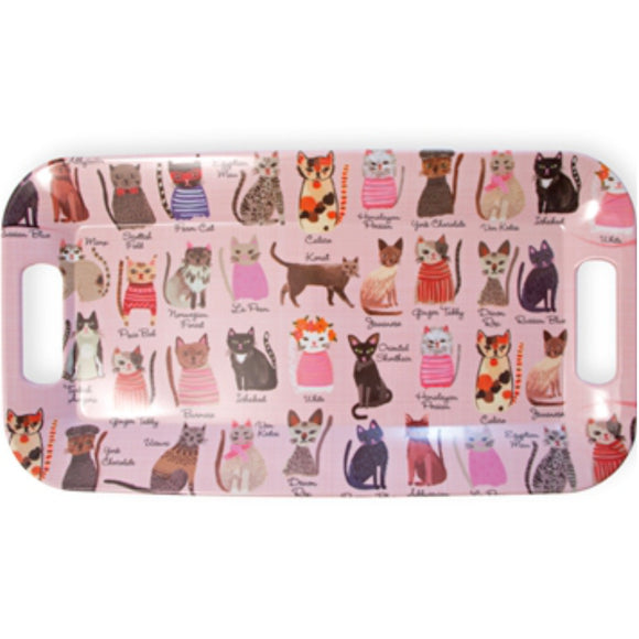 Cool Cats Melamine Tray