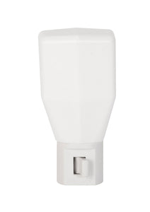 Incandescent Manual On/Off Night Light – White