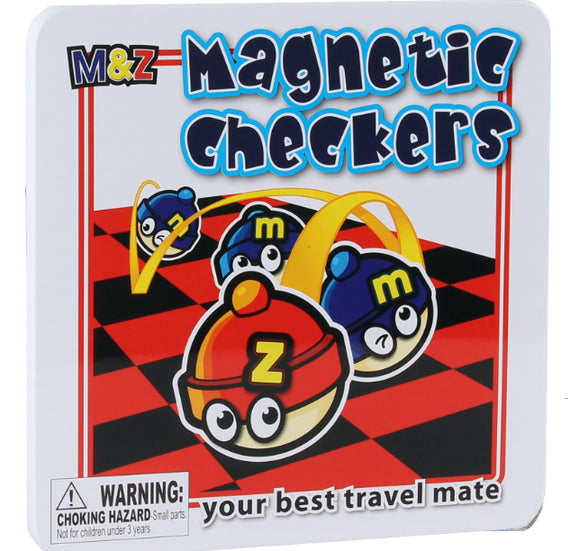 Magnetic Travel Games – Checkers
