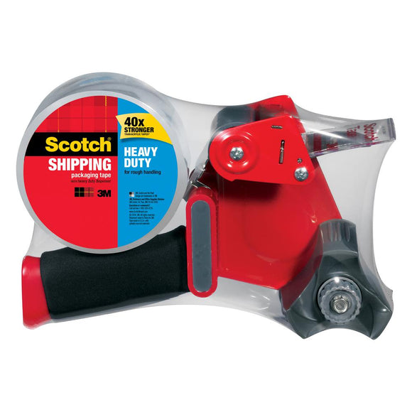 Scotch Heavy Duty Shipping Tape + Dispenser – Large