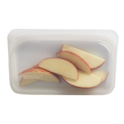 Stasher Reusable Silicone Snack Bag – Clear