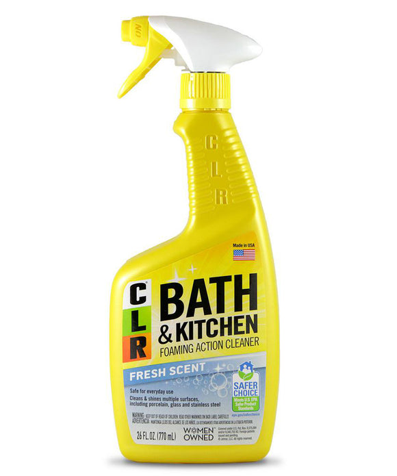CLR Bath & Kitchen Cleaner – 26 oz