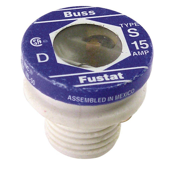Plug Fuses – 15A – Pack of 2