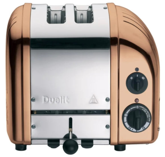 Dualit 2 Slice Newgen Toaster - Copper Finish