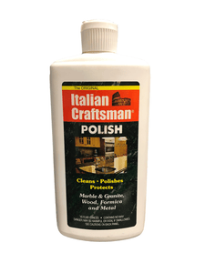 Italian Craftsman Stone and Wood Polish – 16oz
