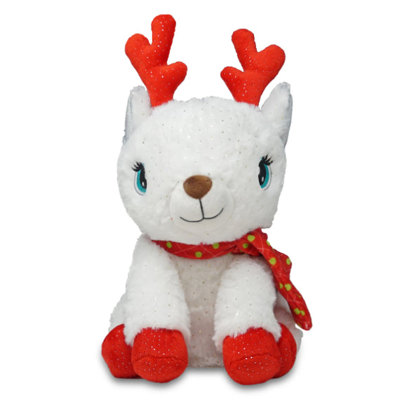 Cuddle Barn Animated Snowbelle the Reindeer Christmas Plush Toy