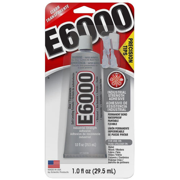 E6000 Industrial Adhesive – 1 oz