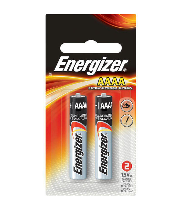 Energizer Alkaline AAAA Battery – 2 Pack