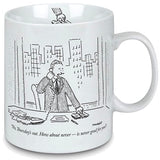 New Yorker Cartoon Mug -Thursday