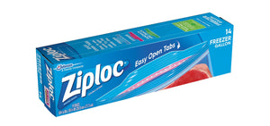 Ziploc Freezer Bags Gallon, 14 Count