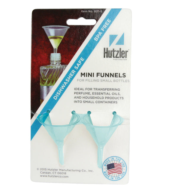 Huztler Plastic Mini Funnel – 2 Pack