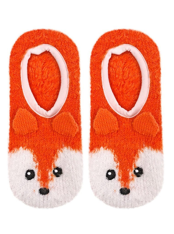 Living Royal Fuzzy Slippers – Fox