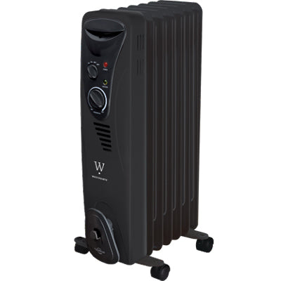 Oil-Based Radiator Heater – Black