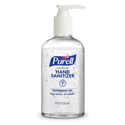 PURELL®Gel Advanced Hand Sanitizer Refreshing Gel – 8 Fl Oz