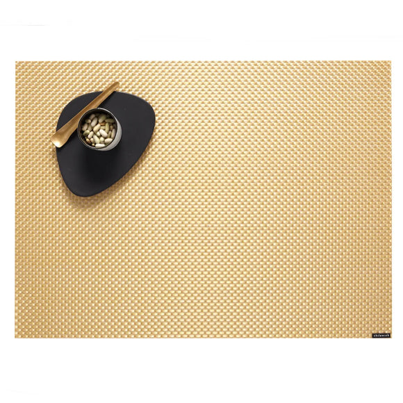 Chilewich Basketweave Placemat – Gilded