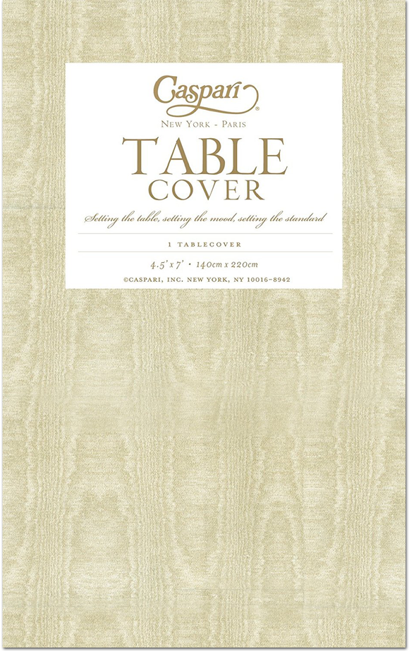 Caspari Paper Linen Solid Airlaid Tablecover – Assorted Colors