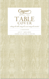 Caspari Paper Linen Ivory Solid Airlaid Tablecover – 7 Color Options