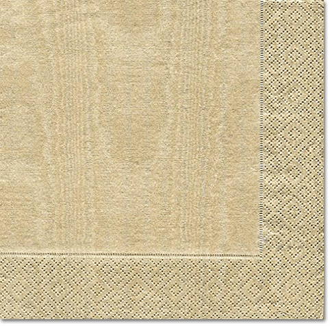 Caspari Moiré Gold Cocktail Napkins – 20pk