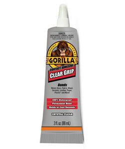 Gorilla Clear Grip Industrial Adhesive – 3 oz