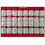Robin Reed Holiday Music Christmas Crackers – 8 Pack