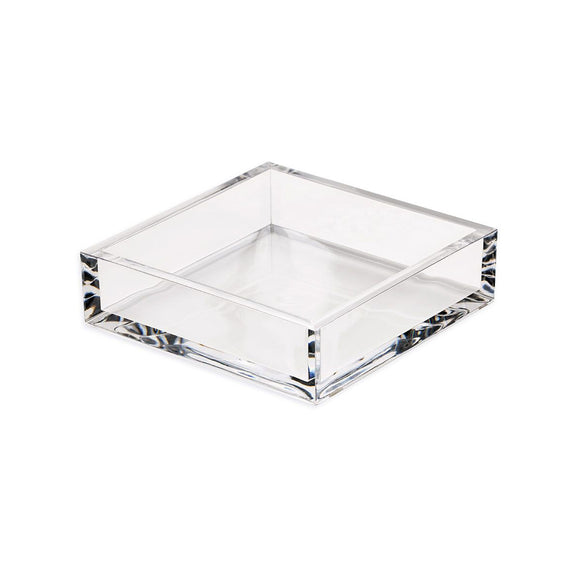 Caspari Acrylic Cocktail Napkin Holder in Clear