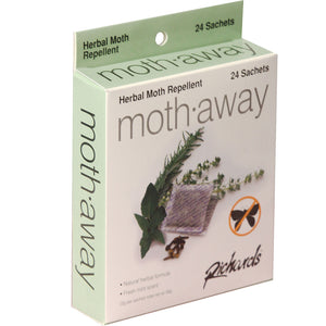 Moth Away Herbal Moth Repellent, 24 sachets