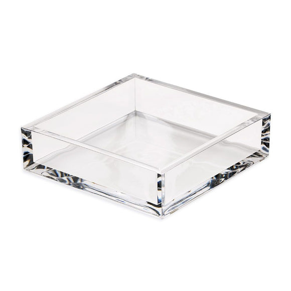 Caspari Acrylic Luncheon Napkin Holder in Crystal Clear