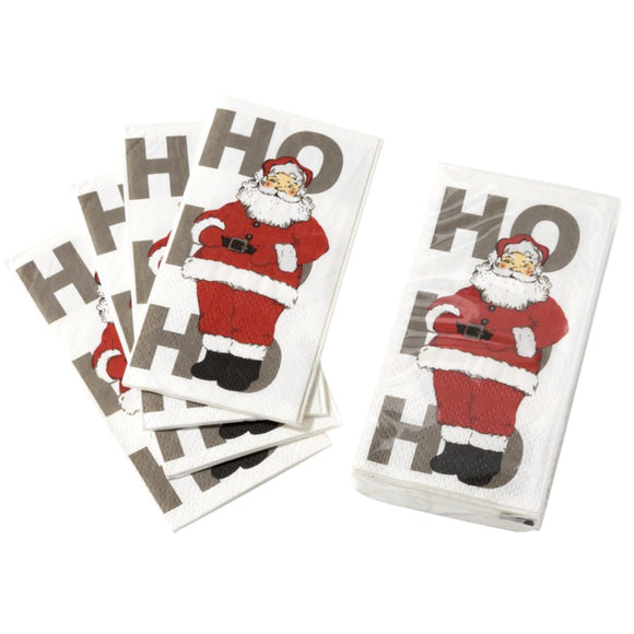 Christmas Santa Pocket Tissue – 10 Pack