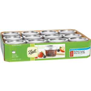 Ball Canning 4oz Jelly Jar – Case of 12