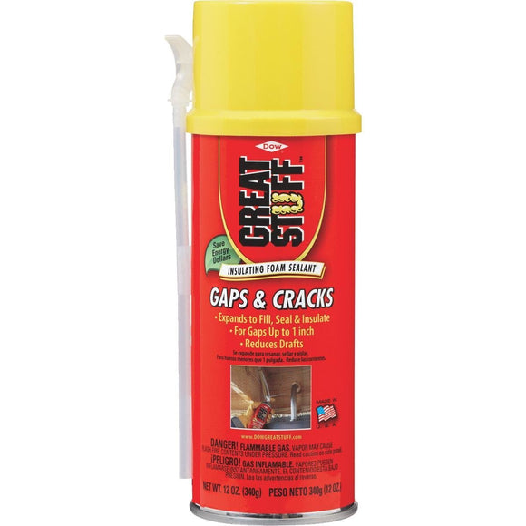 Gaps & Cracks Foam Sealant - 12oz