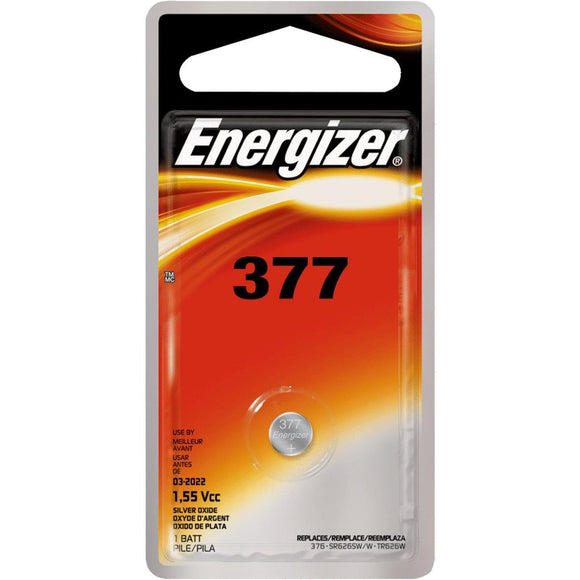 Energizer Silver 377 / 376 Battery