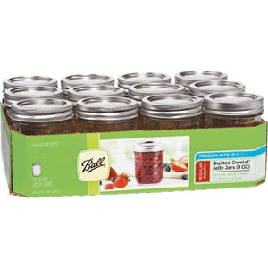 Ball Canning 8oz Jelly Jar – Case of 12