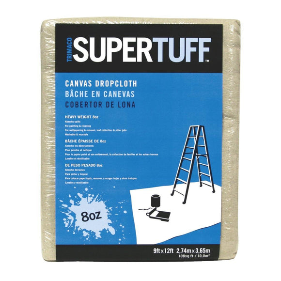Canvas Drop Cloth – 9' x 12'