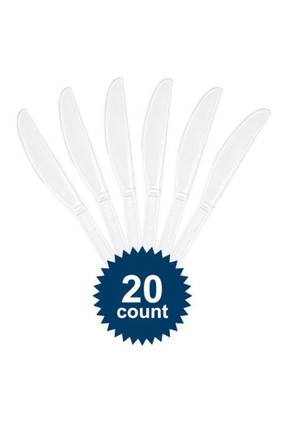 Disposable Plastic Knives – Pack of 20