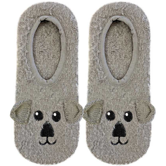 Living Royal Fuzzy Slippers – Koala