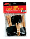 9 Piece Foam Brush Set