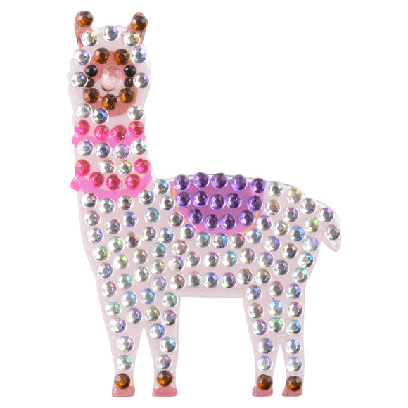 StickerBeans Llama Sparkle Sticker – 2