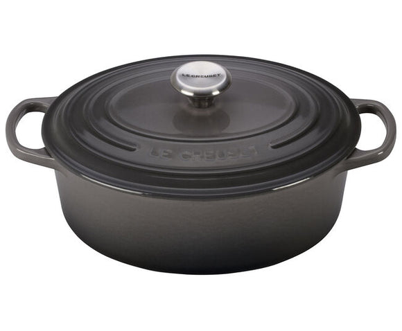 Le Creuset Oval Dutch Oven – 2.75 QT – Oyster