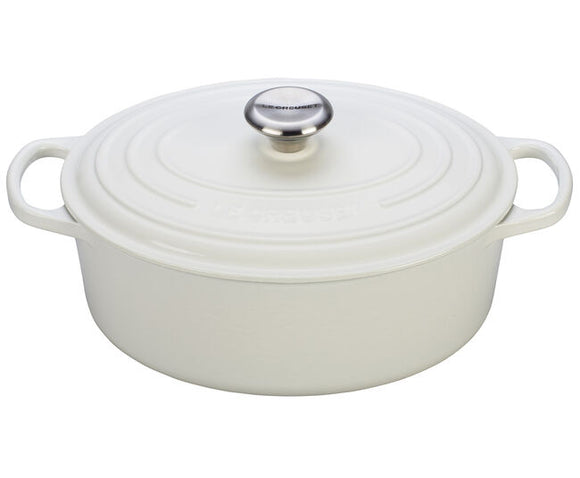 Le Creuset Oval Dutch Oven – 5 QT – White