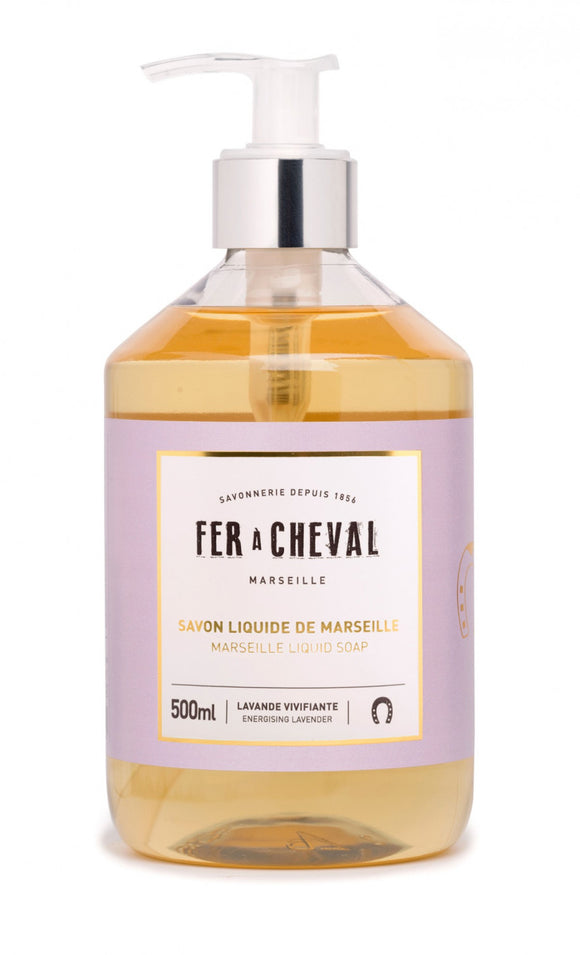 Fer A Cheval Marseille Liquid Soap – Energising Lavender – 500ml