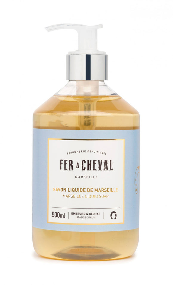Fer A Cheval Marseille Liquid Soap – Seaside Citrus – 500ml