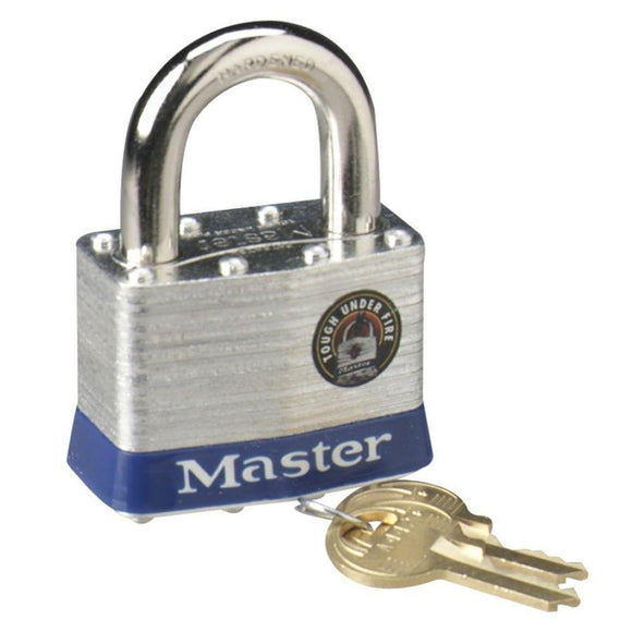 Master Lock Laminated Steel Large Padlock with 2 Keys – 2