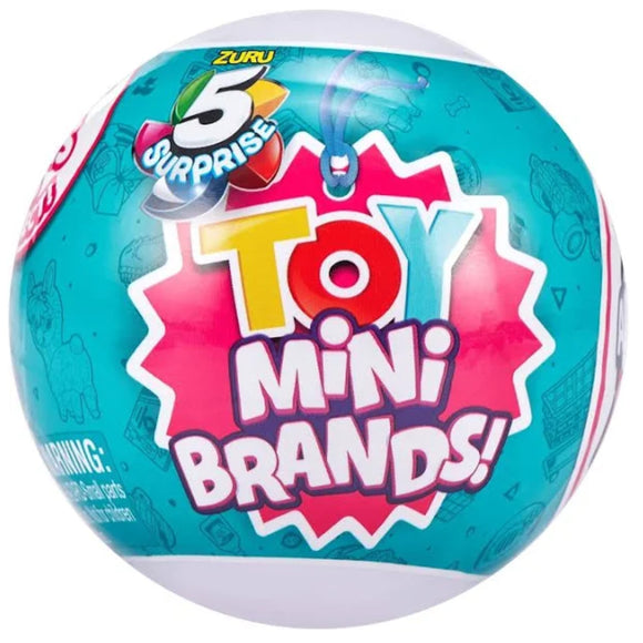 Mini Brands 5 Surprise Capsule Collectible Toy