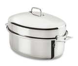 All-Clad Stainless 10 QT. Covered Oval Roaster