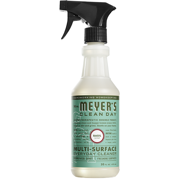 Mrs. Meyer's Basil Multi-Surface Everyday Cleaner Spray – 16oz