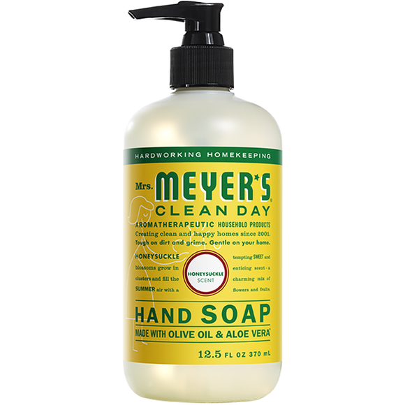 Mrs. Meyer's Honeysuckle Liquid Hand Soap – 12oz
