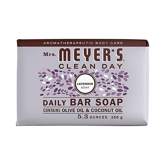 Mrs. Meyer's Lavender Daily Bar Soap