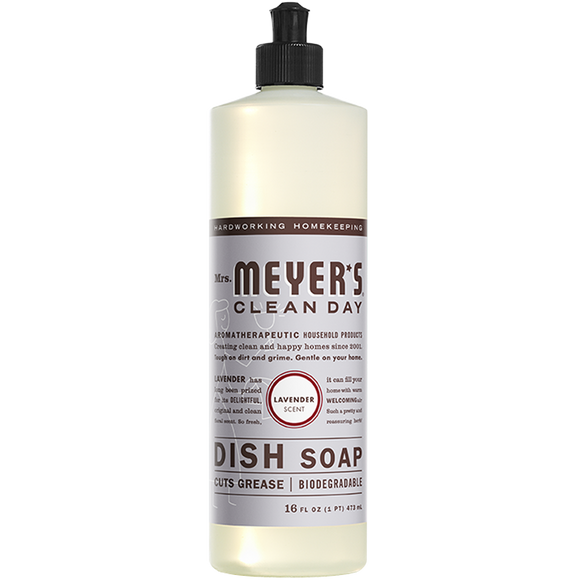 Mrs. Meyer's Lavender Dish Soap – 16oz