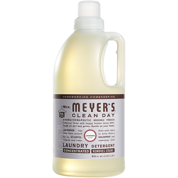 Mrs. Meyer's Lavender Laundry Detergent – 64oz